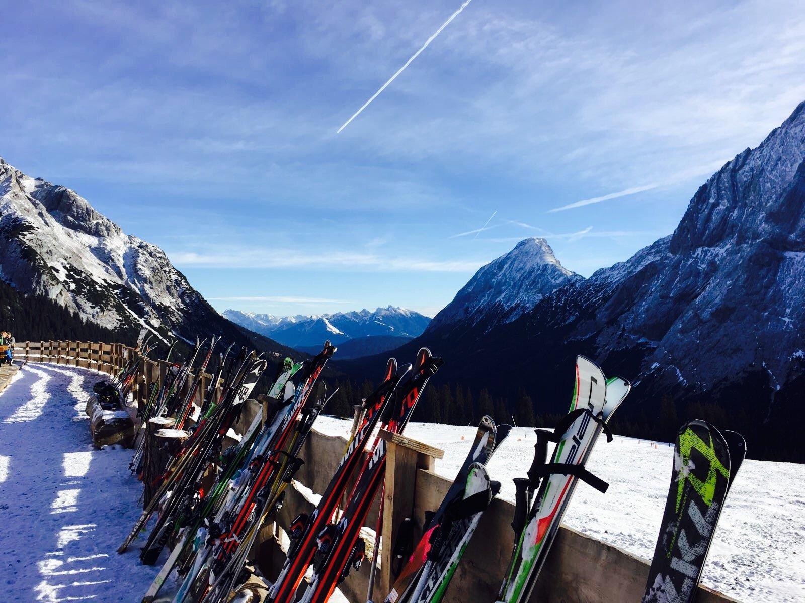 Op wintersport in Ehrwald. Een aanrader voor gezinnen met kinderen