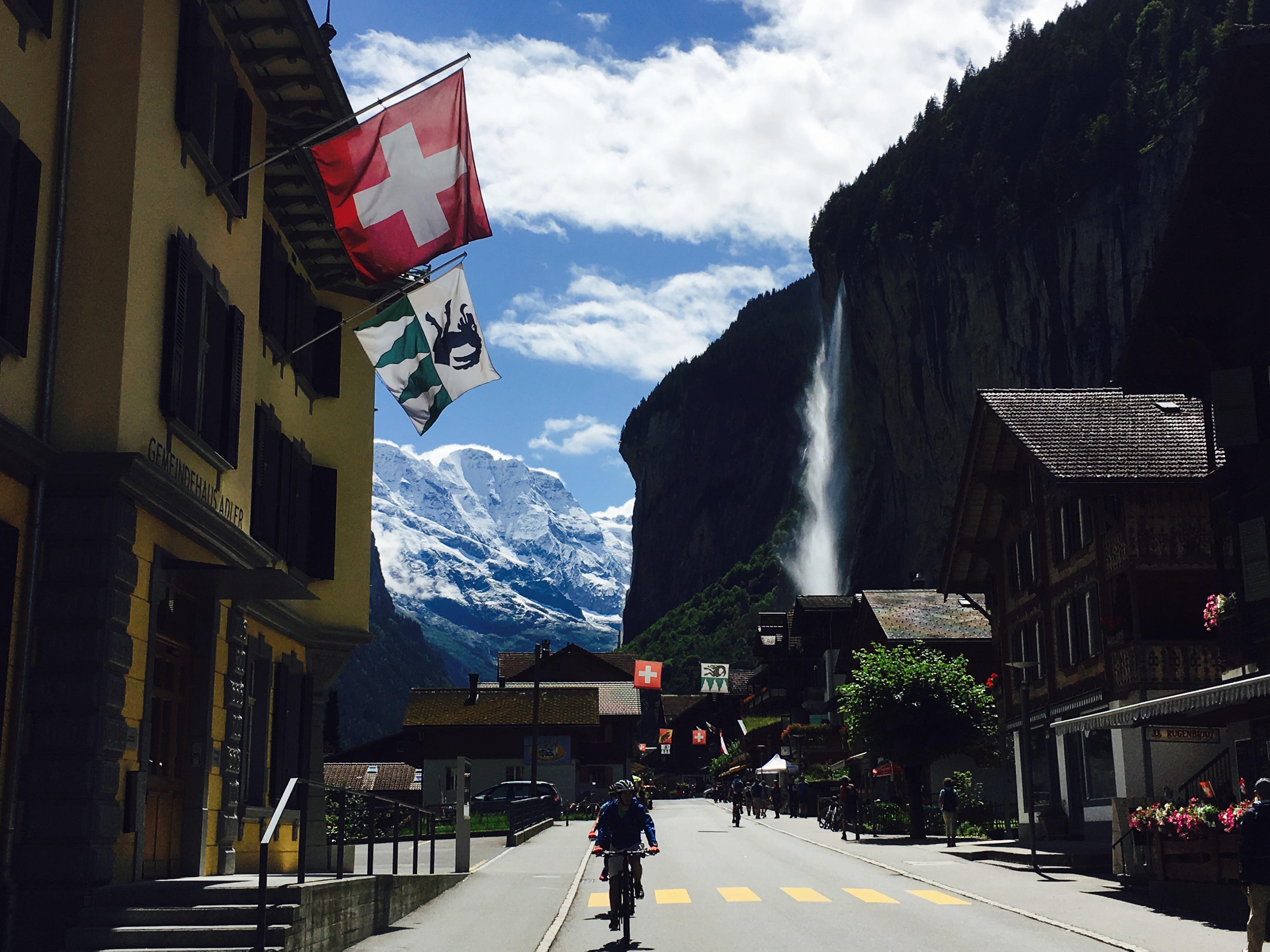 Camping Jungfrau in Lauterbrunnen (Zwitserland)