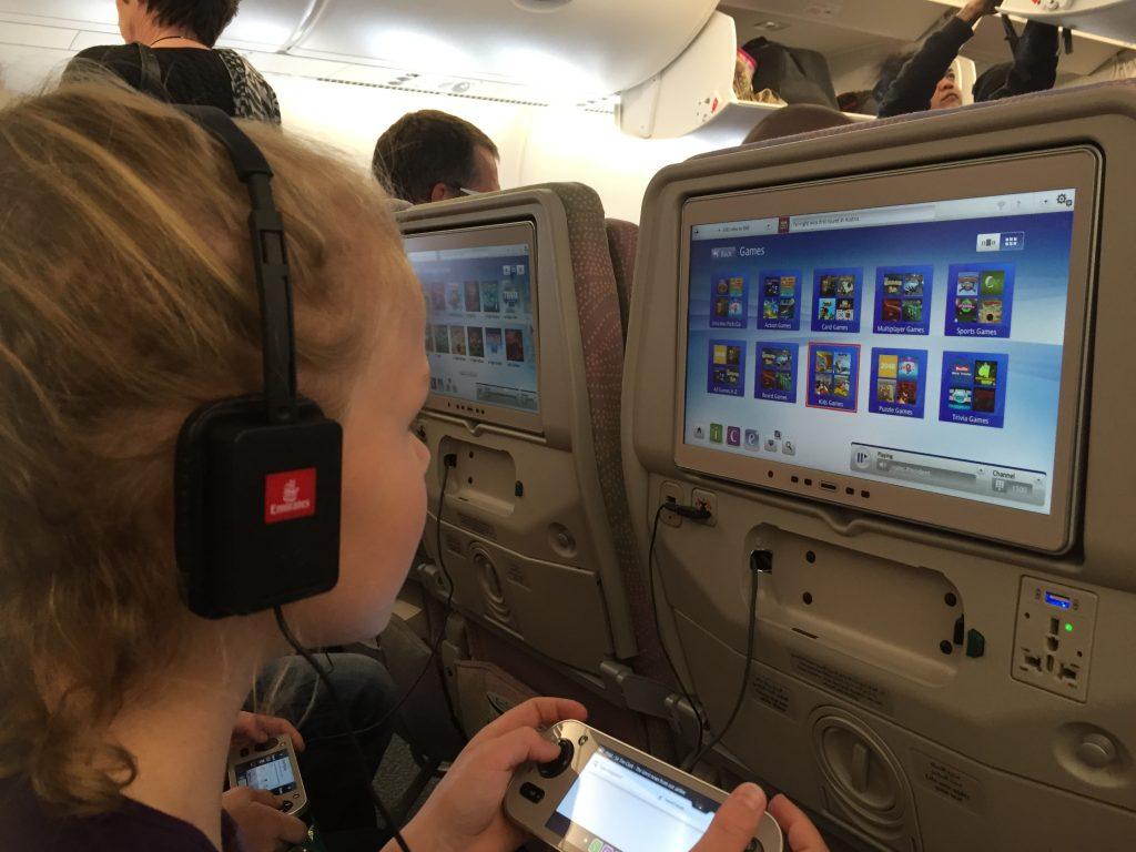 ICE het entertainmentsysteem van Emirates