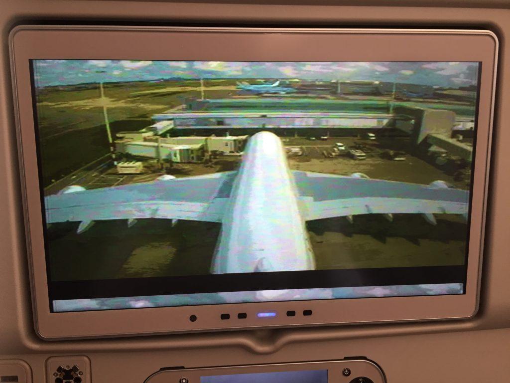 camera op emirates A380