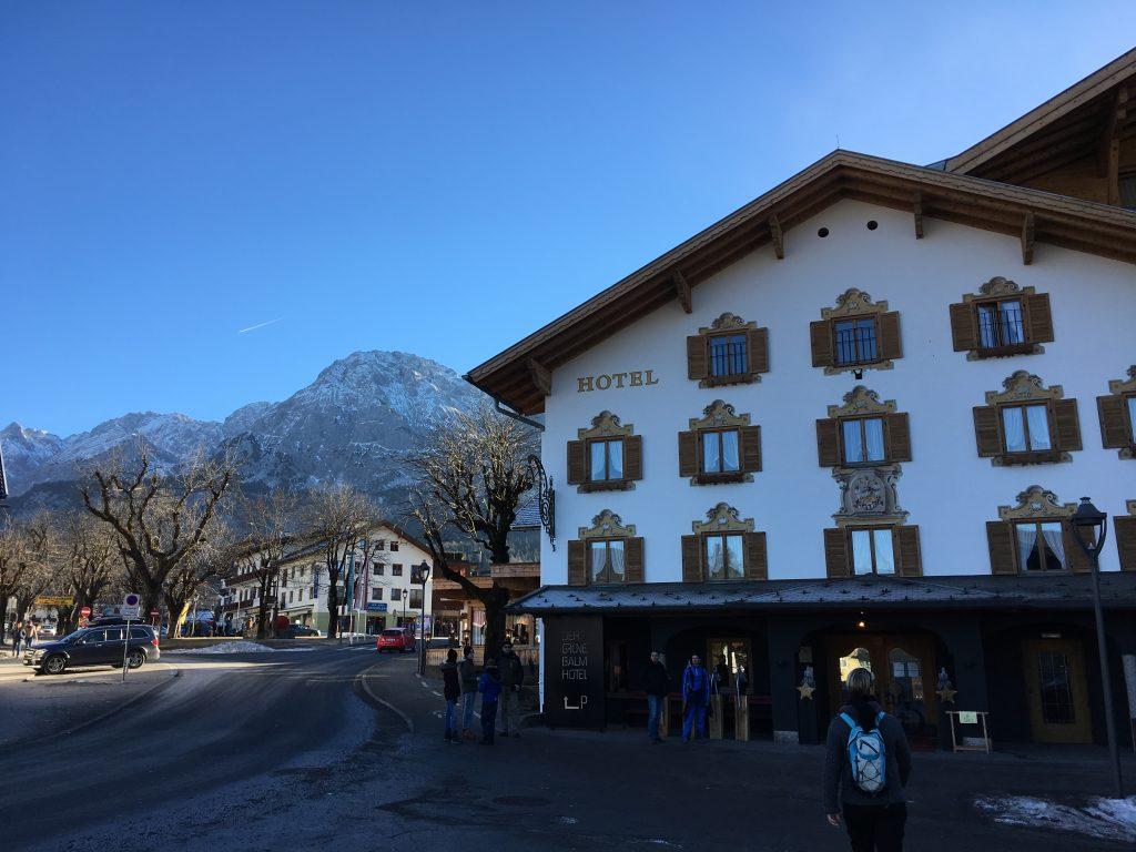 Hotel der gruener baum ehrwald