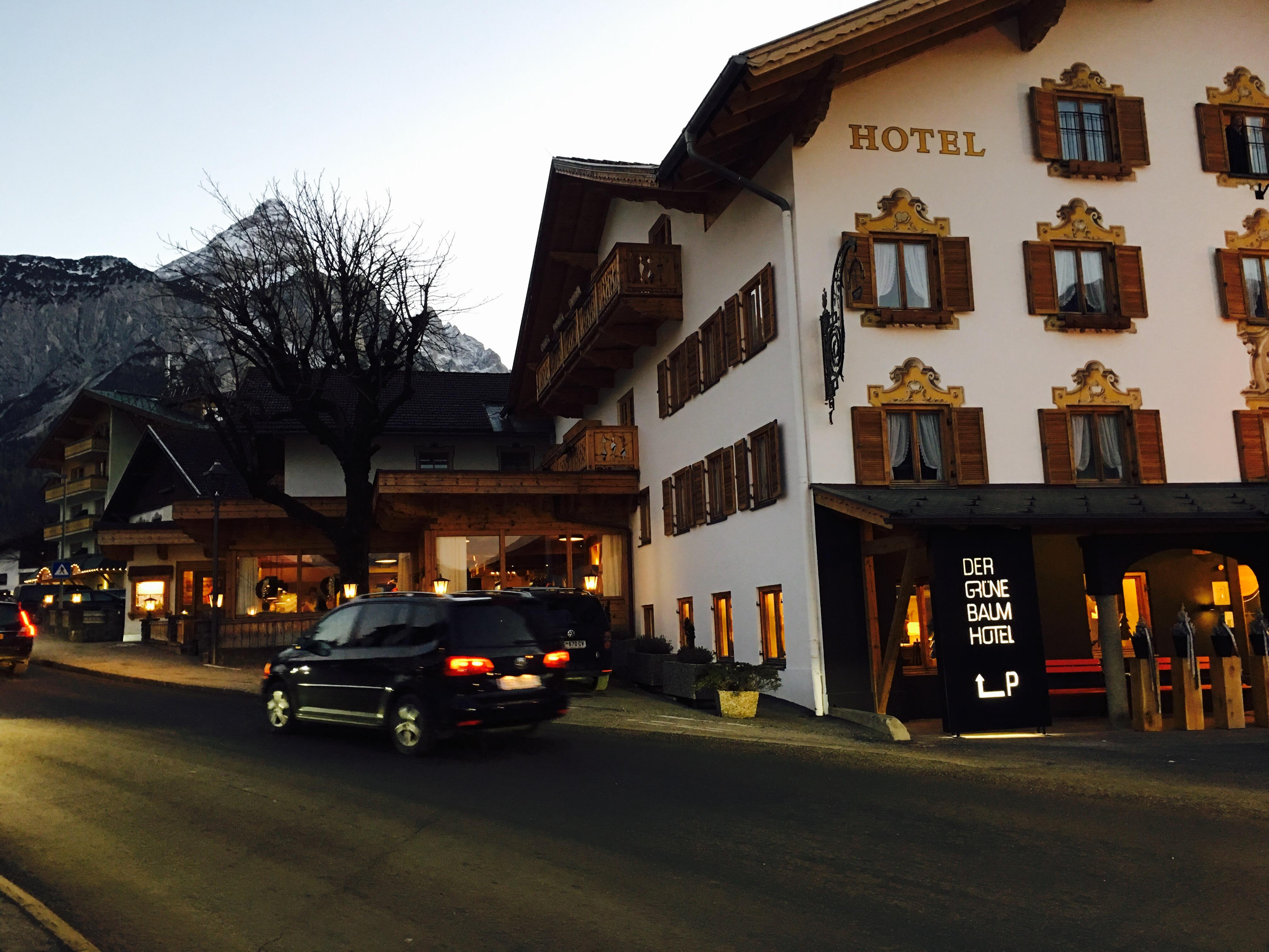 Hotel der gruener baum in Ehrwald