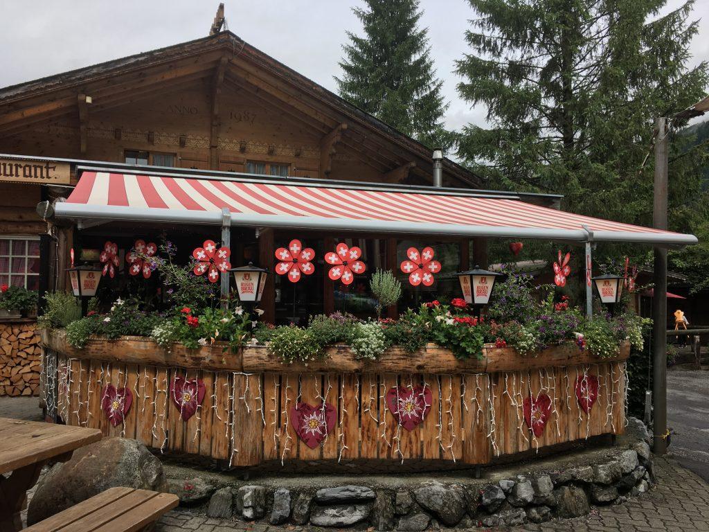 restaurant camping jungfrau