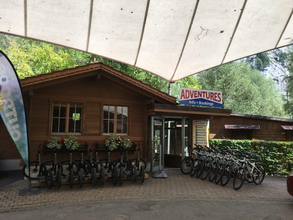 fietsen te huur camping jungfrau