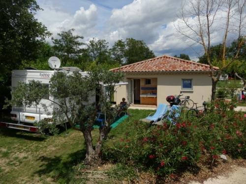 camping met prive sanitair Frankrijk