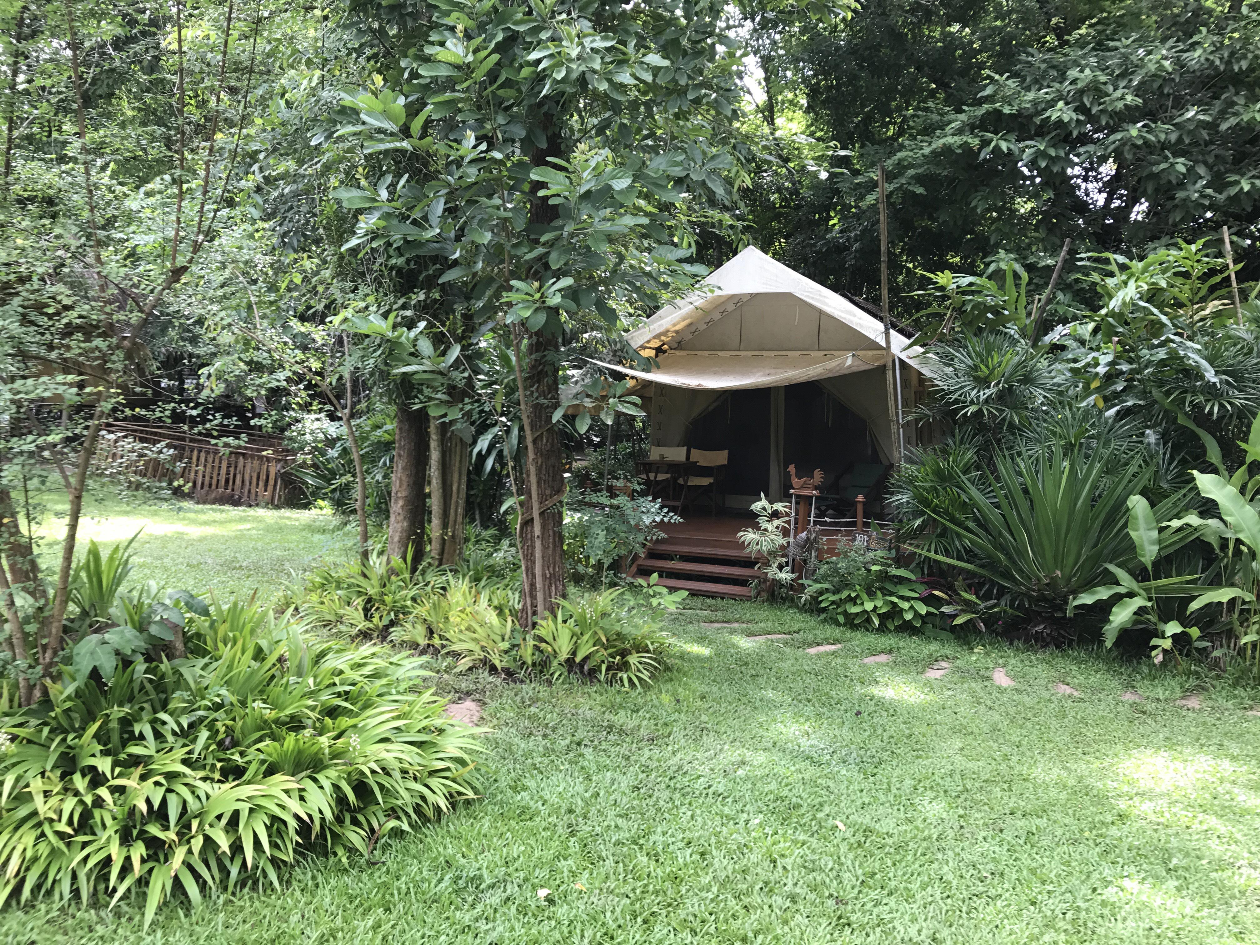 Hintok River Camp- luxe tenten in Thailand
