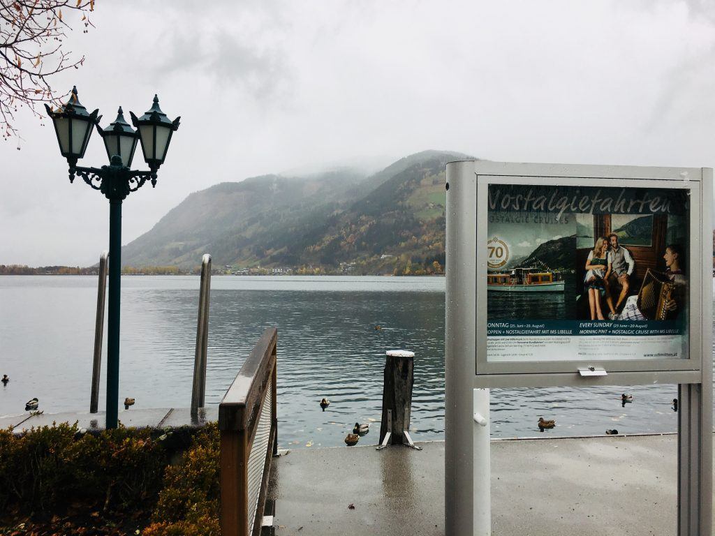 Zell am See in de herfst