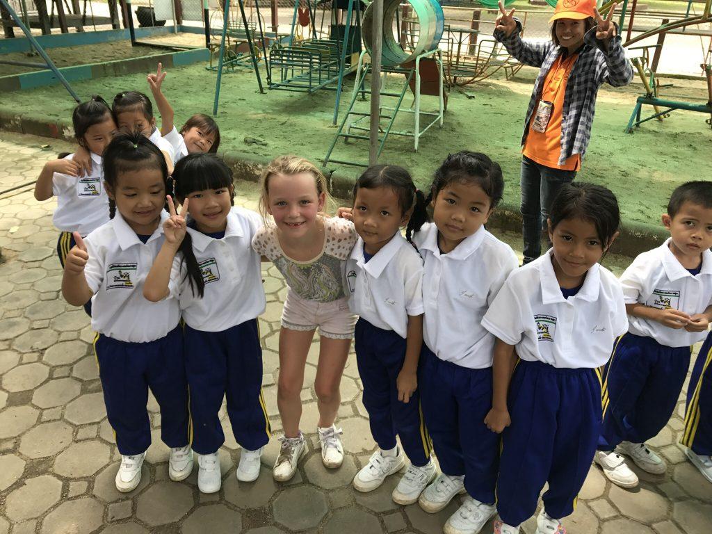 schoolklas Thailand