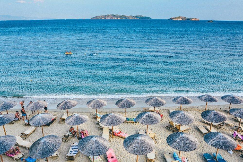 Stranden van Skiathos