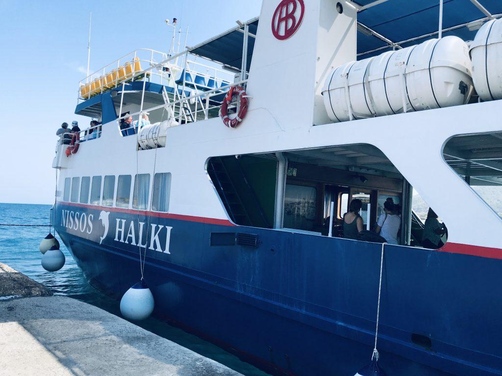 veerboot rhodos naar Chalki