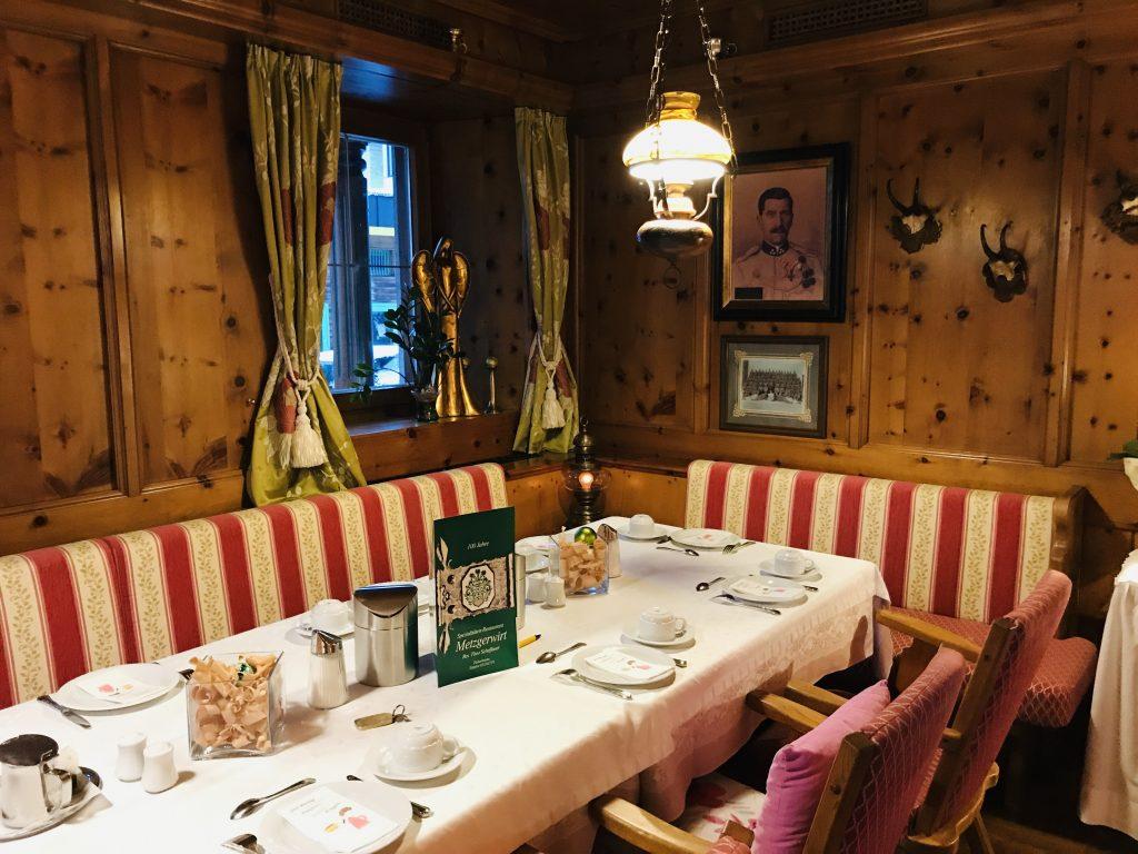 restaurant Hotel Metzgerwirt Fieberbrunn