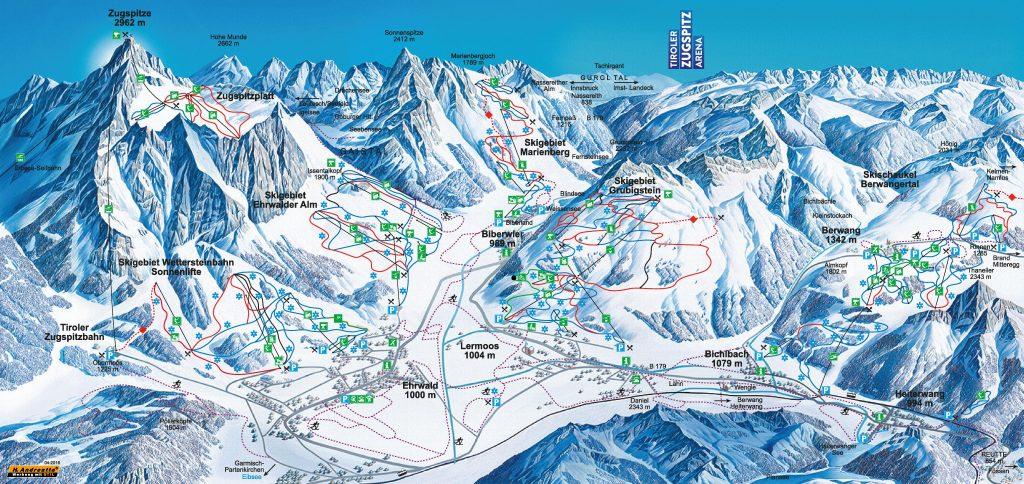 skigebied Berwang