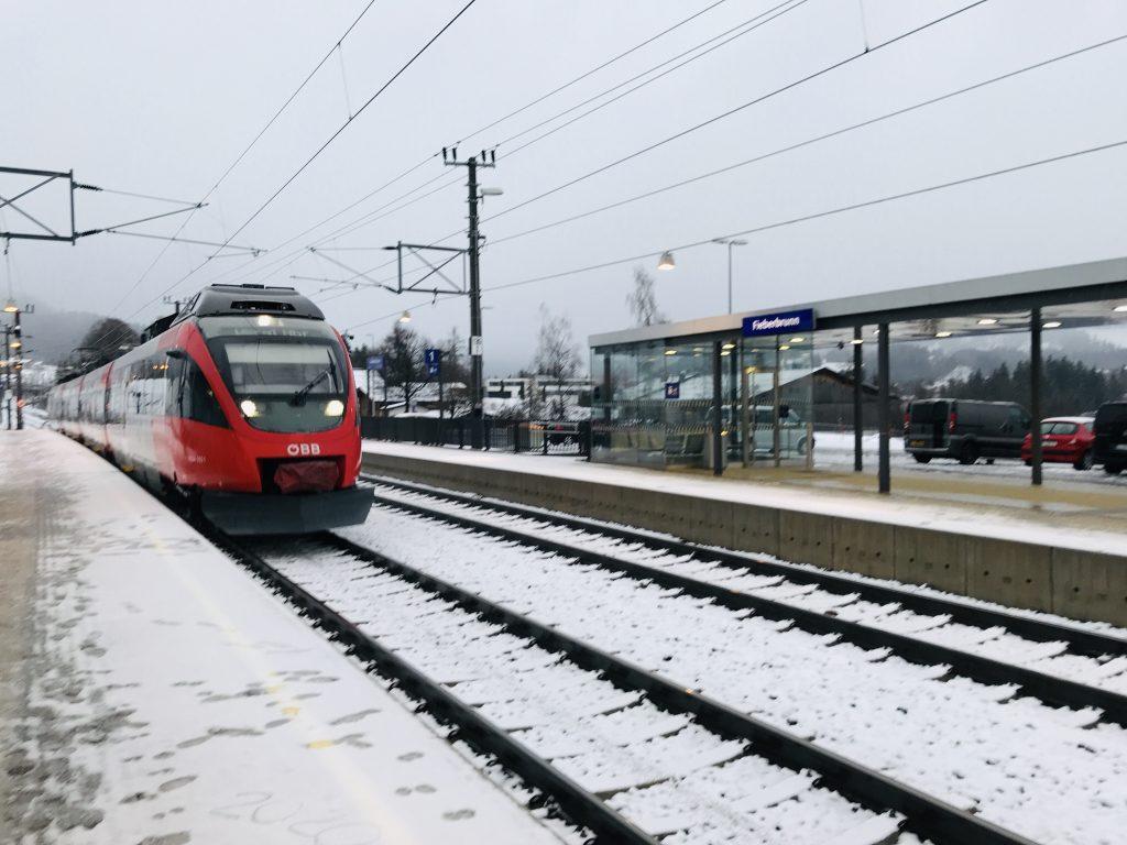 station Fieberbrunn