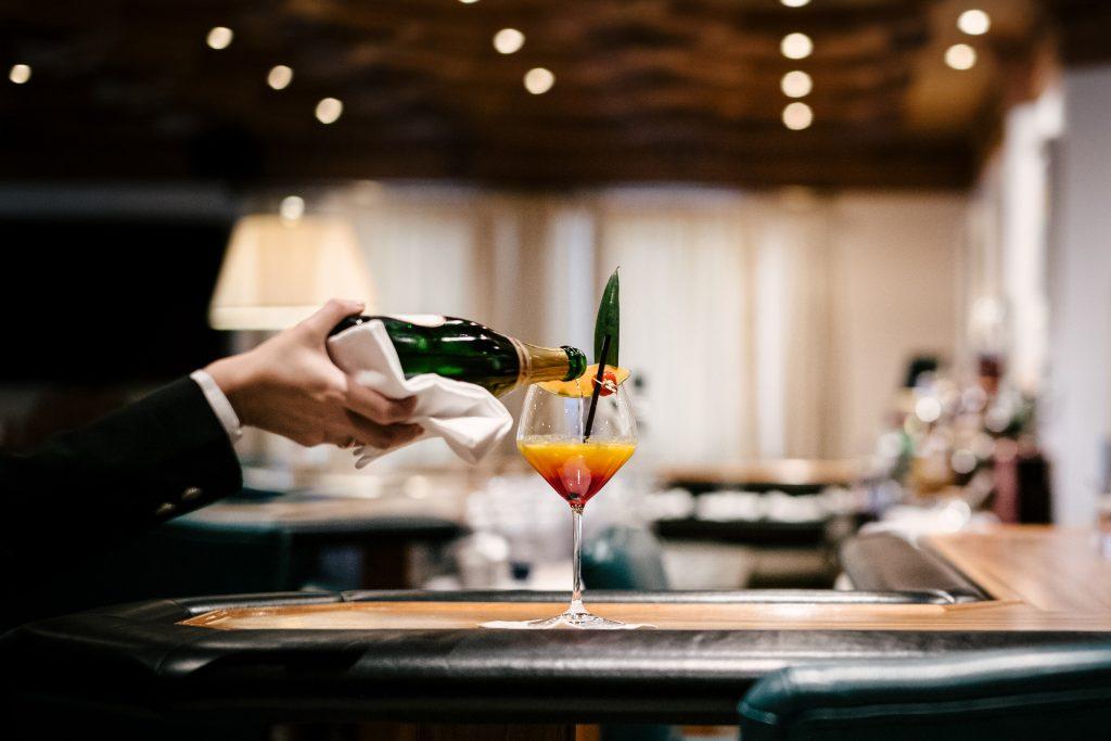 Bar Trofana hotel Ischgl